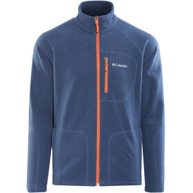 Columbia Fast Trek II Full Zip Fleece Jacket Men carbon/heatwave